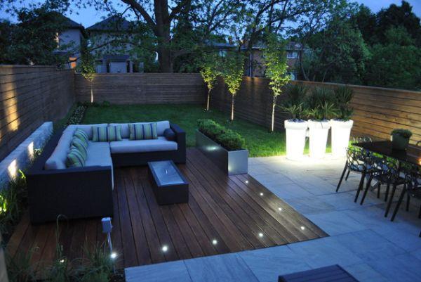 Terrasse bois avec spot Nos Conseils