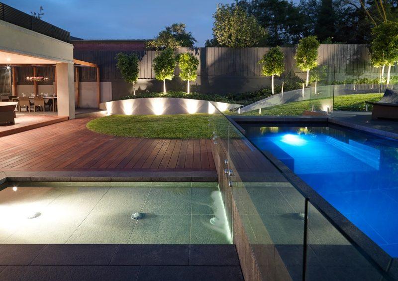 Spot Terrasse Piscine Spot Led Extérieur 45 Idées Sur L éclairage De Jardin Moderne