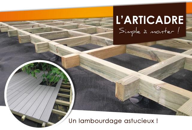 Articadre terrasse bois