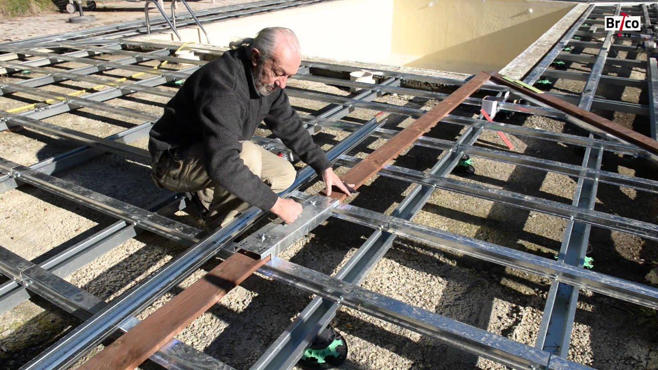 Créer une terrasse en bois vraiment durable Tuto