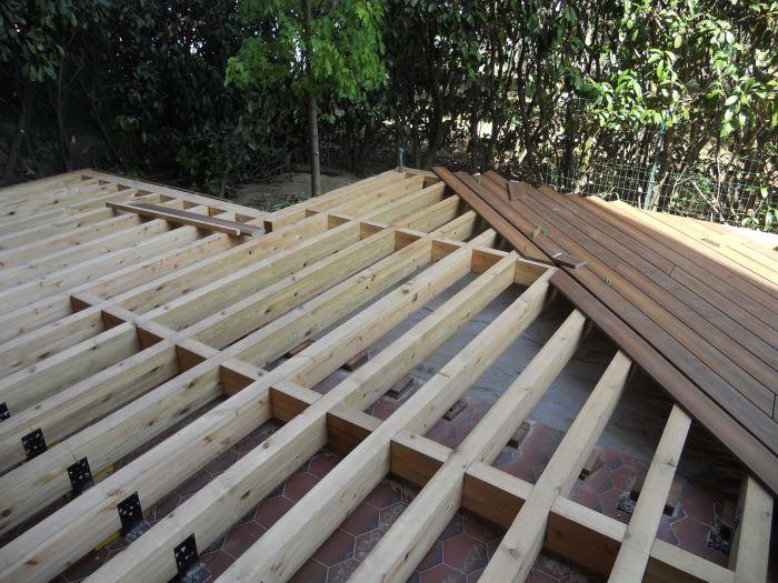 Terrasses en bois Sébastien Gaspin charpentier Toulouse