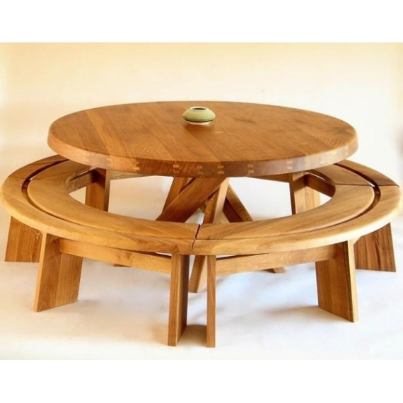 Table Avec Banc – Nestis