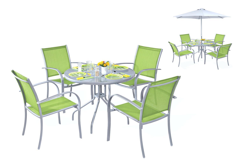 Ensemble table chaise de jardin pas cher