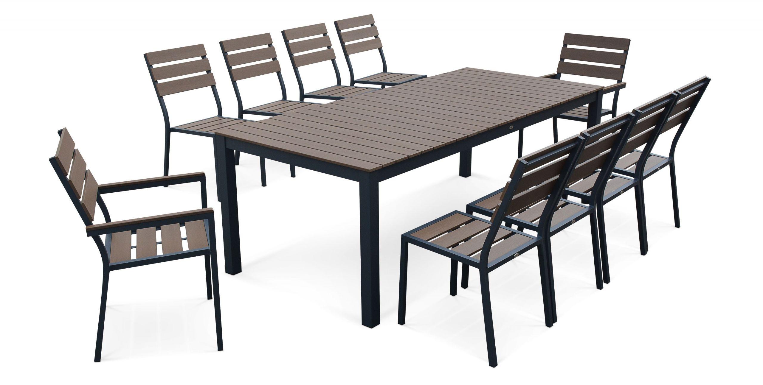 Table de jardin avec chaise table chaise jardin pas cher