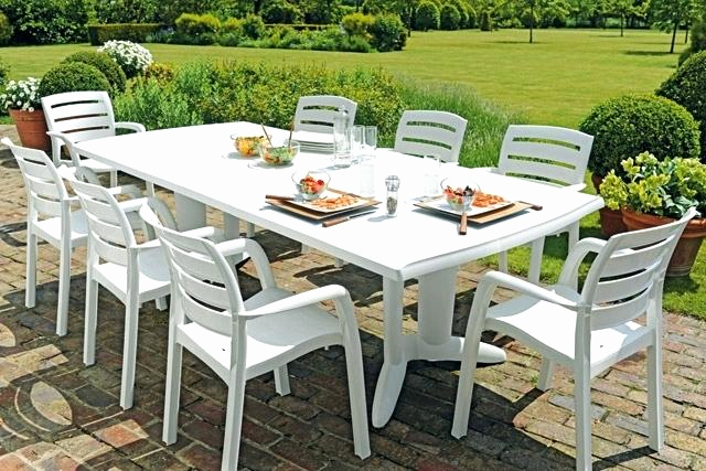 Table De Jardin Plastique Design