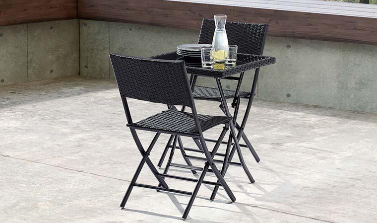 Table et 2 chaises de jardin pas cher Bricolage Maison