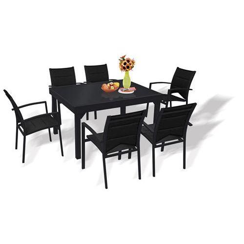 Table et chaise de jardin en resine pas cher Cabanes
