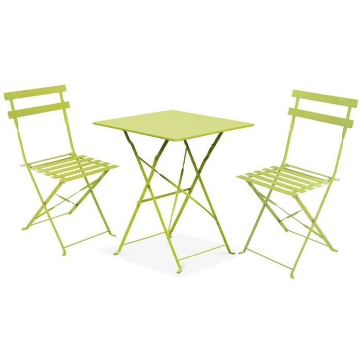 Table et chaise de terrasse Achat Vente pas cher