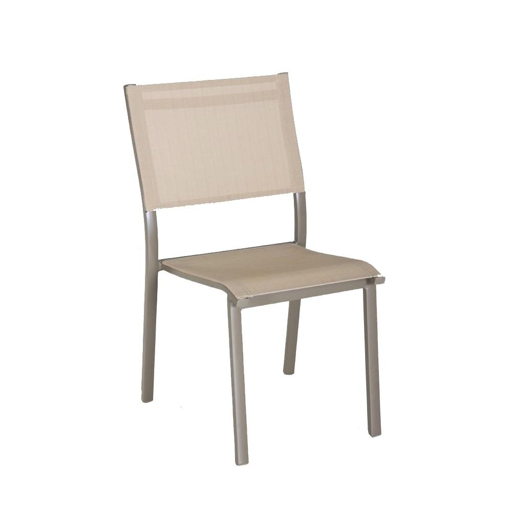 Table De Jardin Avec Chaise Chaise De Jardin Contemporaine Avec Accoudoirs Empilable