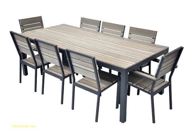 Ensemble table et chaise de jardin solde table jardin