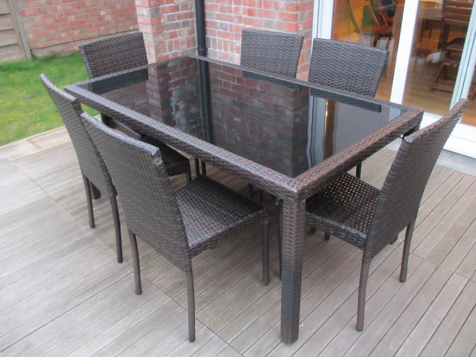 Table et chaise de jardin Mailleraye jardin
