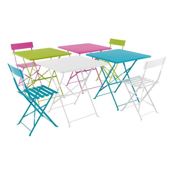 Table et chaise jardin Cabanes abri jardin