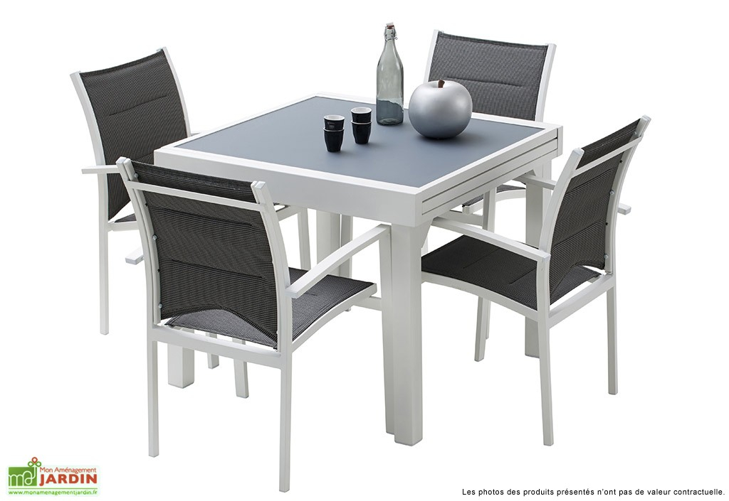 Table De Jardin Avec Rallonge Table De Jardin 4 Personnes Avec