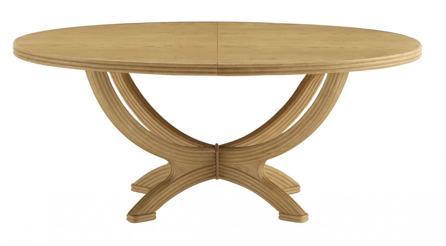 Table De Jardin Avec Rallonge Table Ovale Avec Rallonge Brin D Ouest