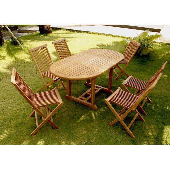 Table de jardin en bois pas cher concept usine salon de - Salon de jardin 8 personnes pas cher ...