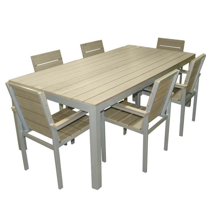 Table De Jardin En Bois Pas Cher Les Concepteurs Artistiques