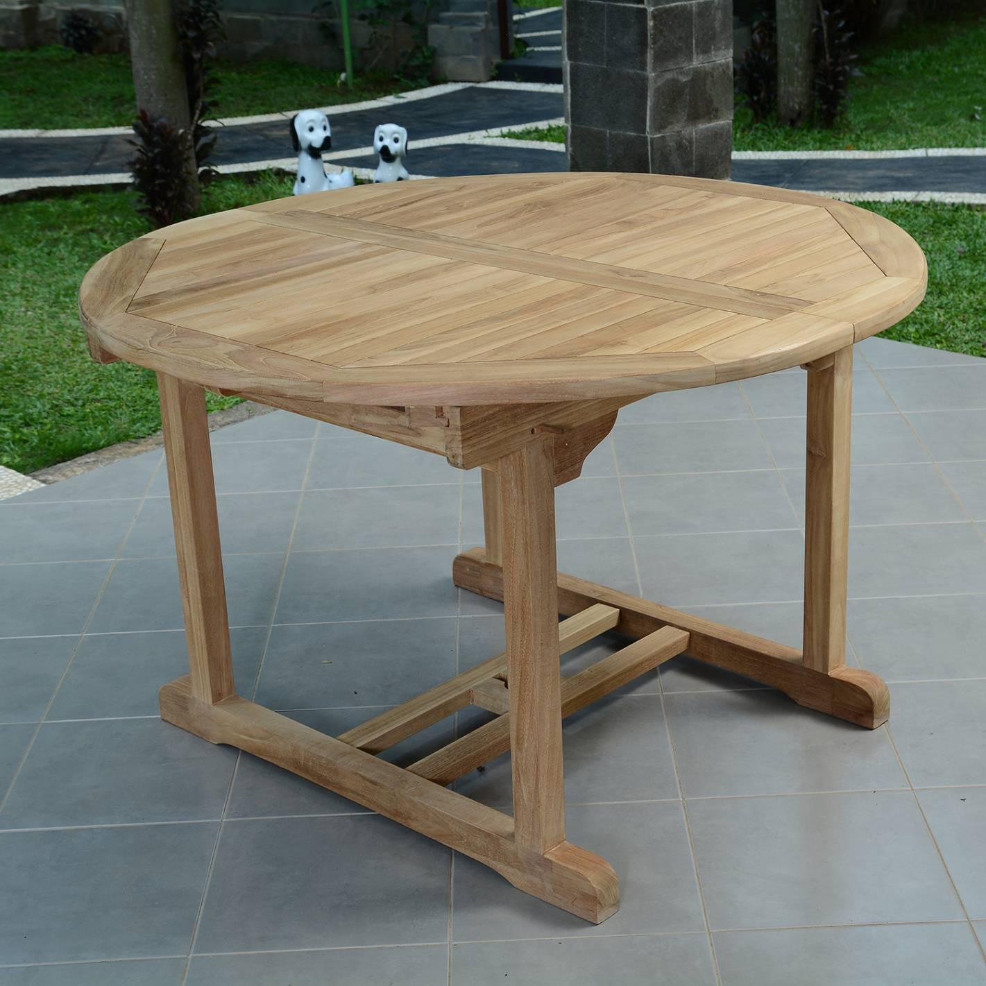 Table De Jardin En Teck Salon De Jardin En Teck Ecograde© Wesport Table Ronde