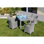 Table De Jardin Resine Ensemble De Jardin Elegance Table Avec 6 Chaises Résine