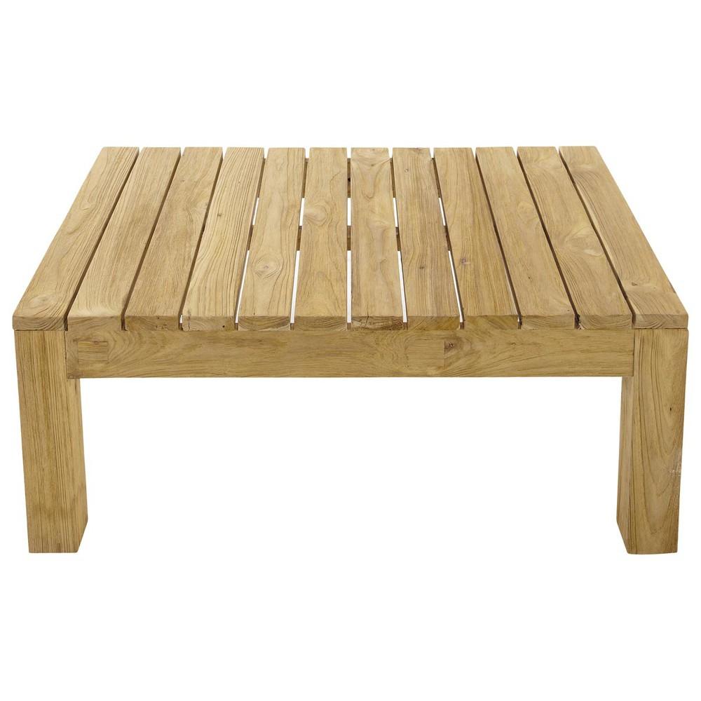Table De Jardin Teck Table Basse De Jardin En Teck L 102 Cm Cadaques