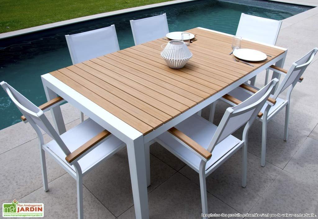 Table De Jardin Tressa C Table De Jardin Extensible Jardiland Idees Conception Jardin Idees Conception Jardin
