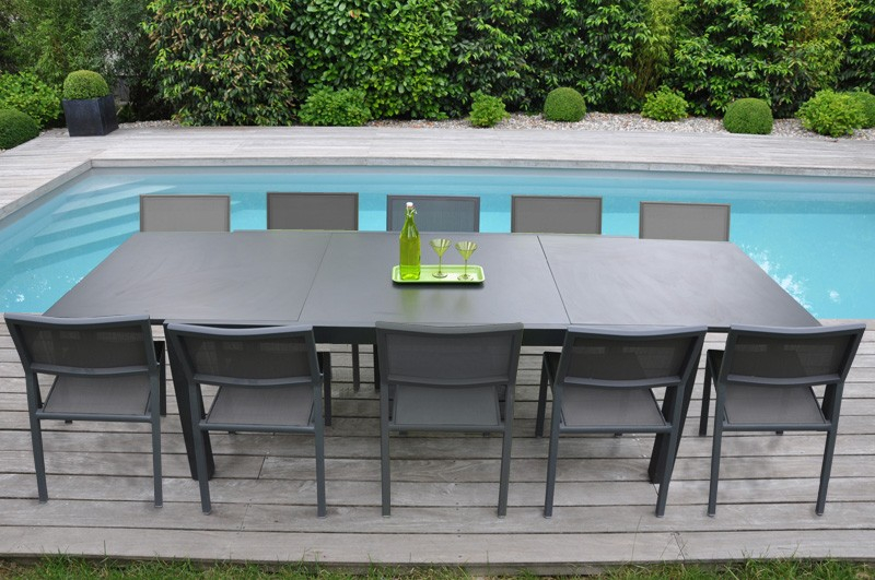 table de jardin 8 10 personnes pas cher