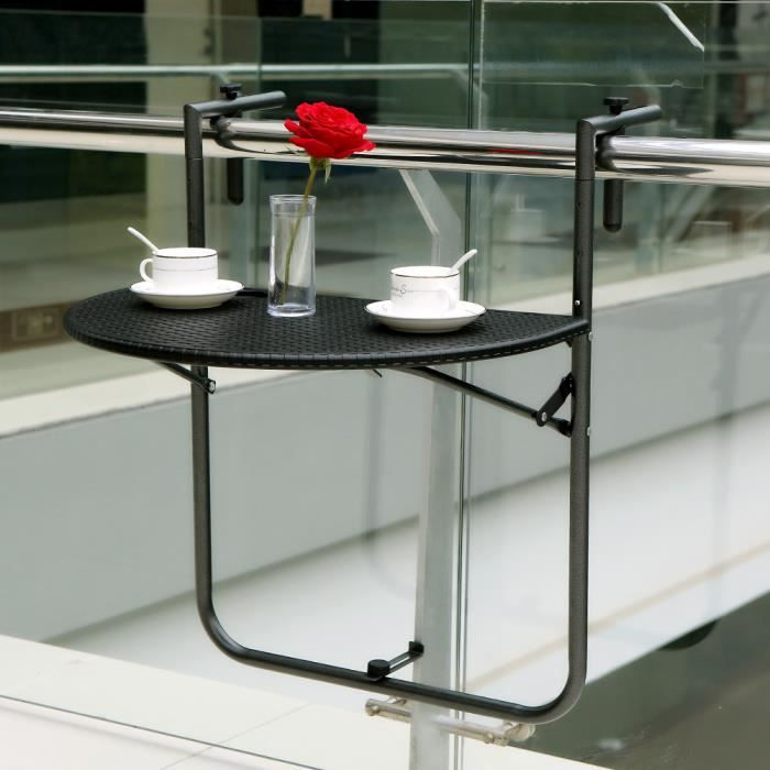 Table De Terrasse Pas Cher Table Balcon Suspendue Achat Vente Table Balcon