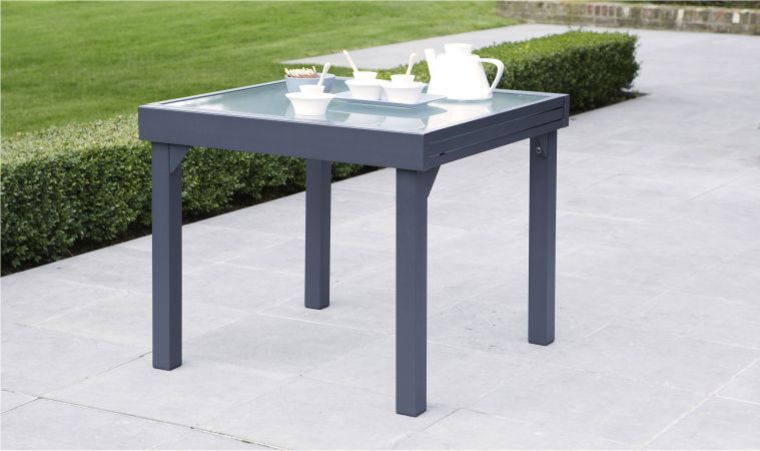 Table Exterieur 4 Personnes Salon De Jardin Modulo Gris 4 Personnes Table Extensible