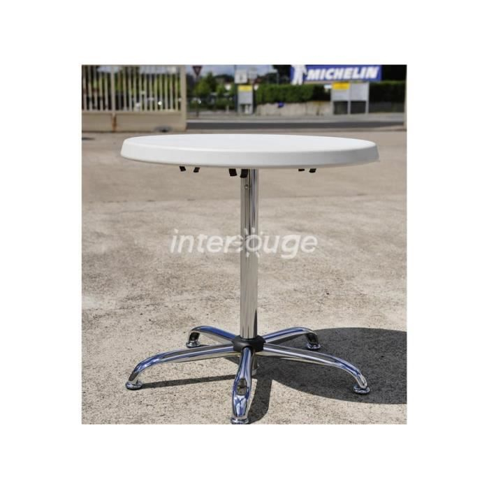 Table de bar mange debout modulable 4 personnes Achat