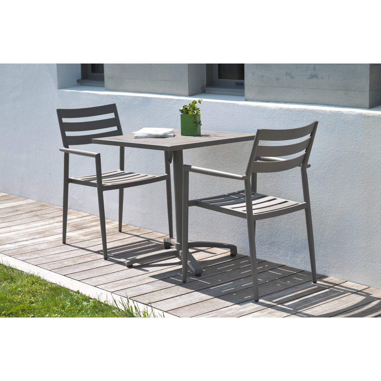 table de jardin pour 2 personnes