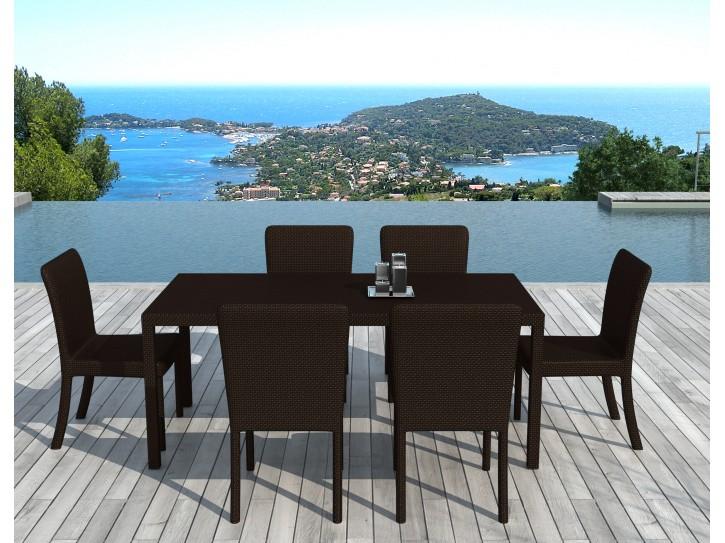 Table Exterieur Resine Concept