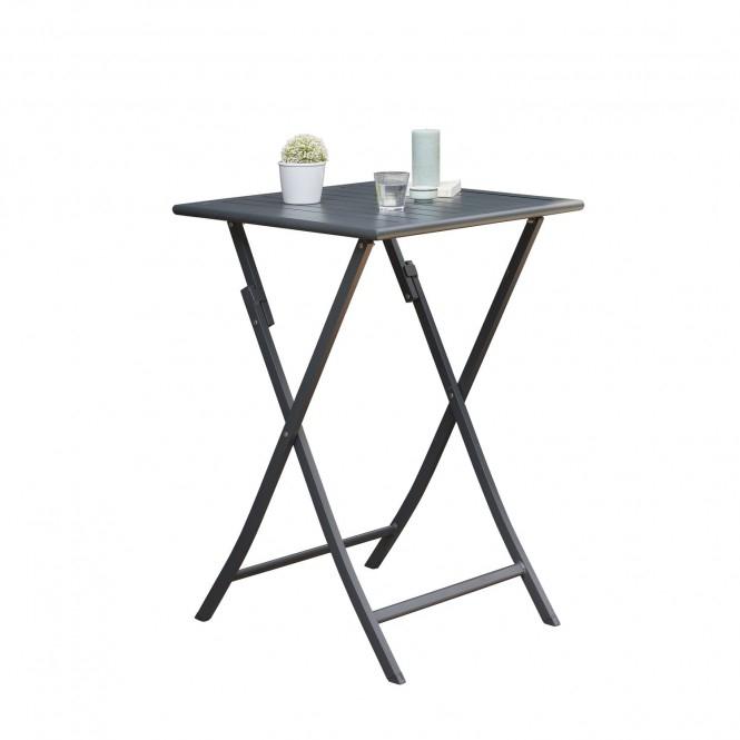 Table haute de jardin pliante 2 Personnes Marius 70 x H