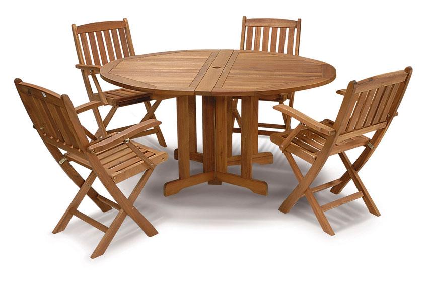 Table bois jardin salon de jardin en teck pas cher