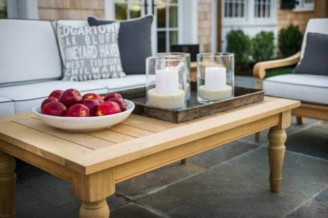 Table de jardin en bois le choix respectueux