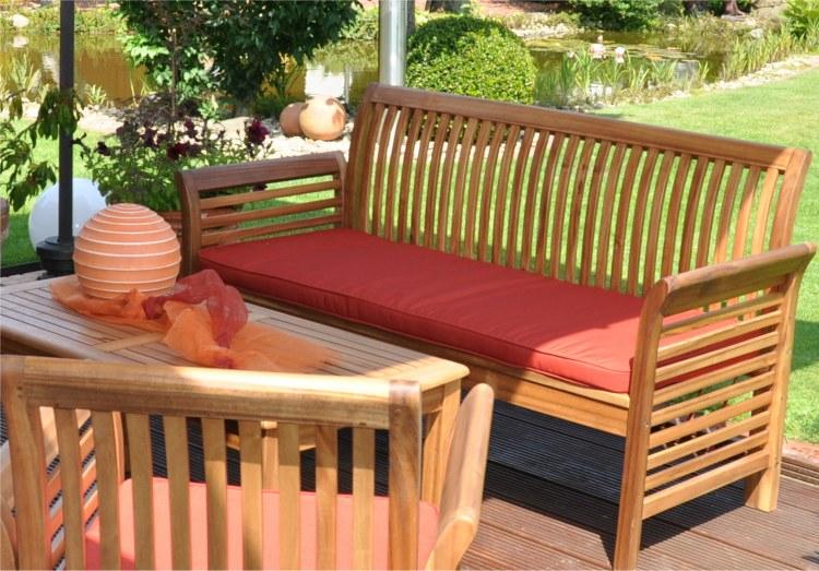 Table de jardin en bois pas cher Maison François Fabie