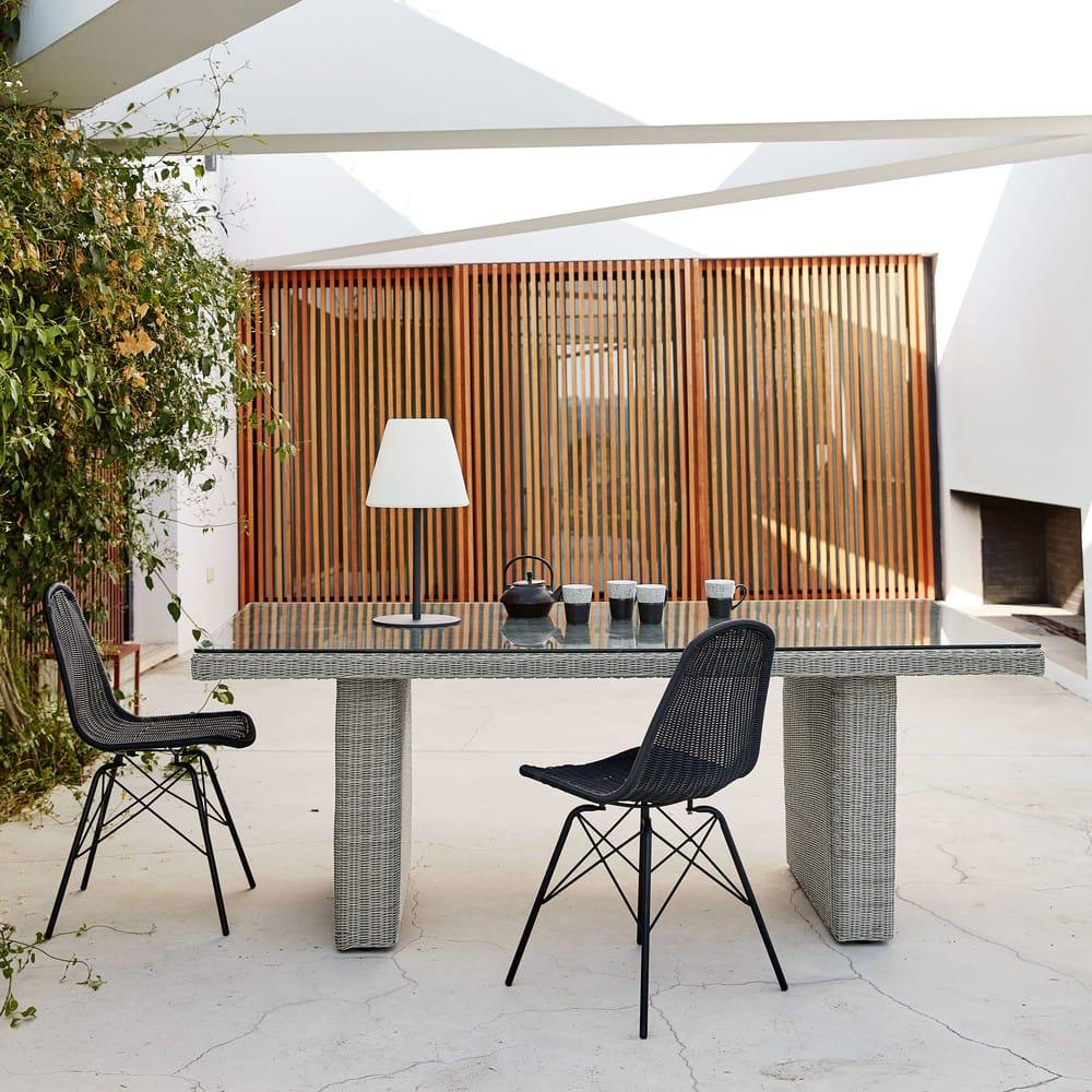Table Jardin Grise Des Idées