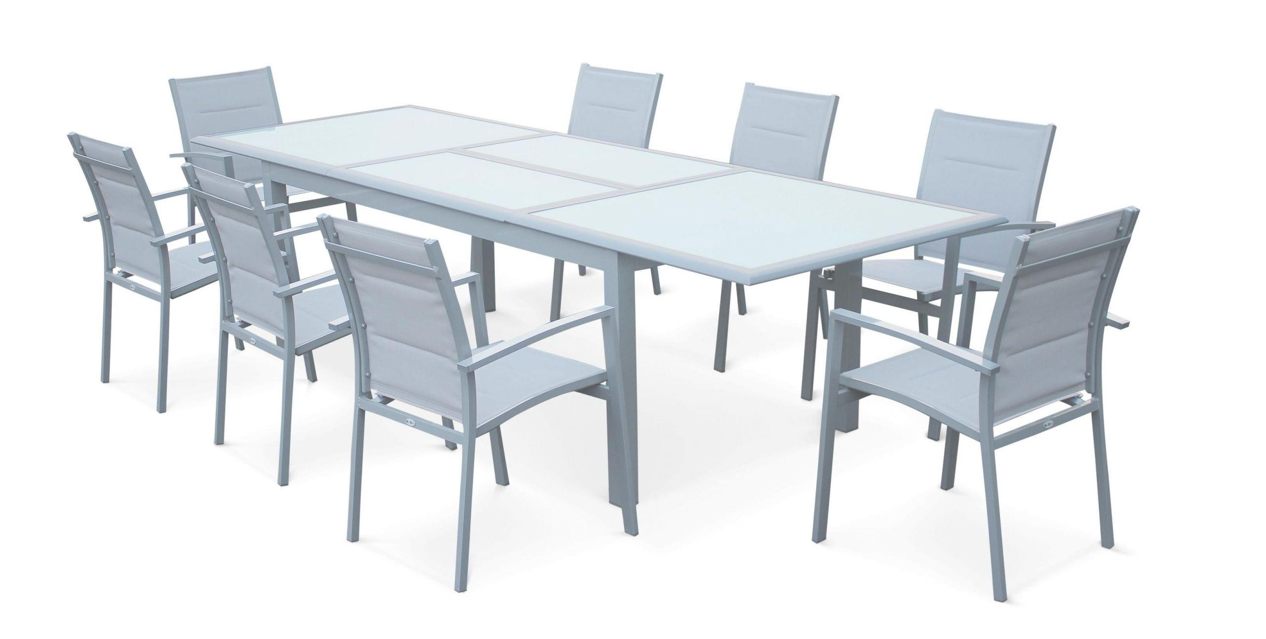 Table De Jardin Aluminium Rallonge