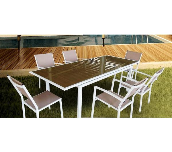 Table De Jardin Avec Rallonge Carrefour