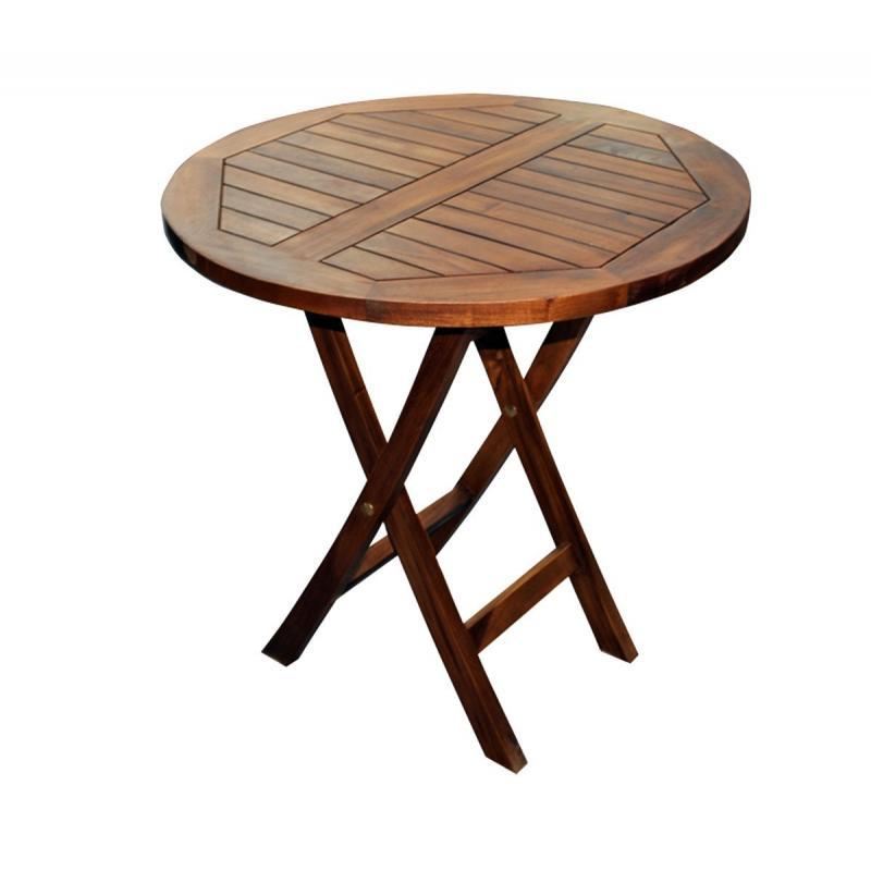 table de jardin 2 personnes teck