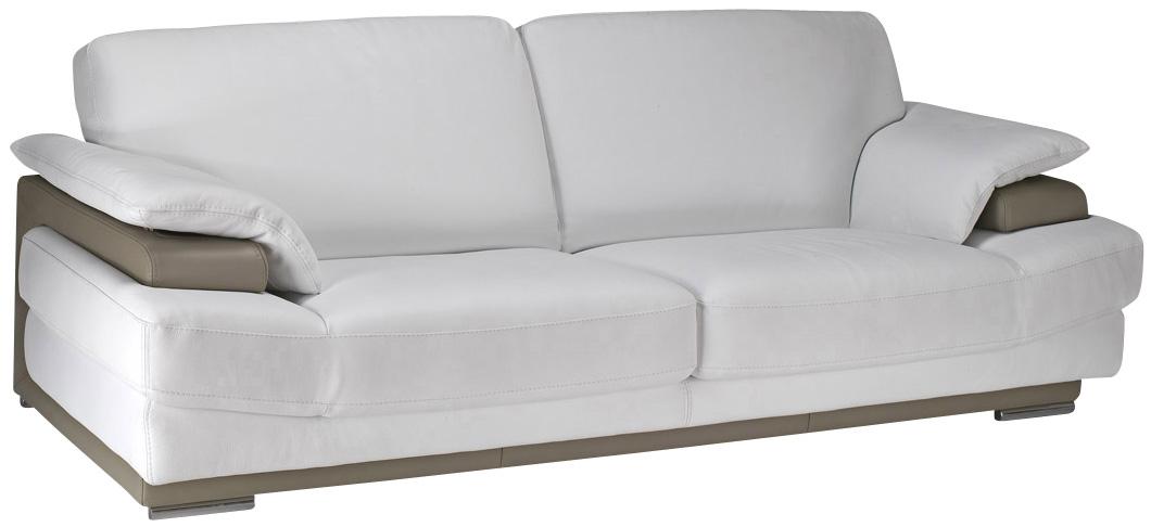 Canapé cuir Massimo canapé fixe pas cher Mobilier et