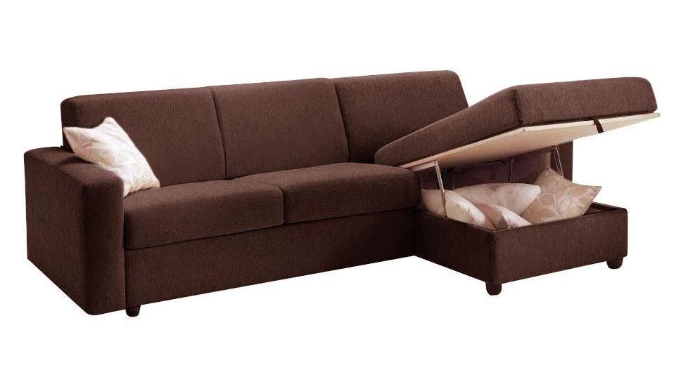 Canapé d angle convertible réversible 3 places lit 140 cm