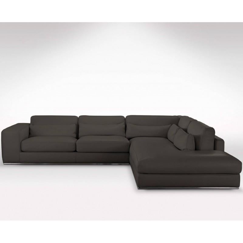 Canapé d angle méri nne haut de gamme en cuir [VERYSOFA]