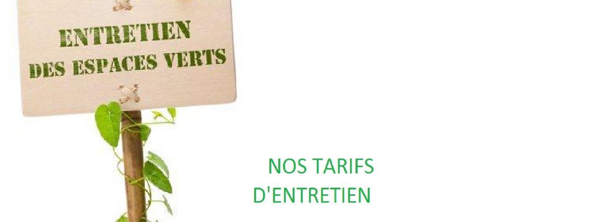 Tarif Entretien Jardin Concept