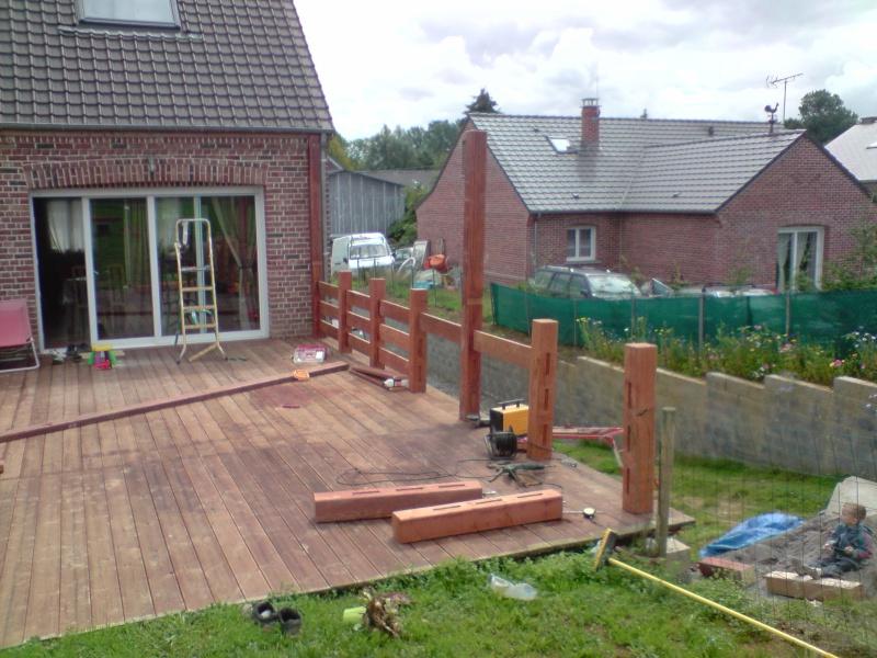 Garde corps terrasse bois pas cher veranda styledevie