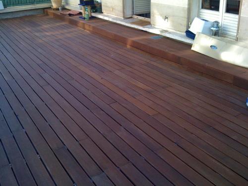 Terrasse en bois pas chère