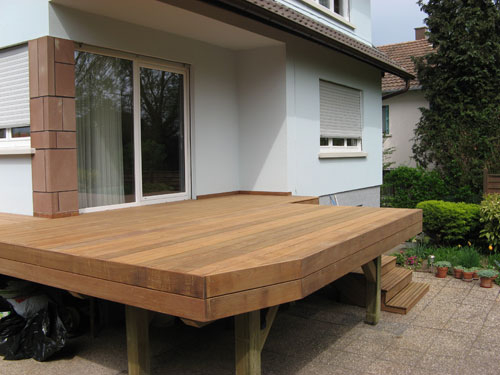 Terrasse en bois sur pilotis – Ma Terrasse