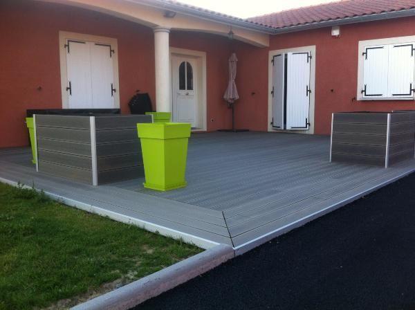 Terrasse Composite Gris Concept