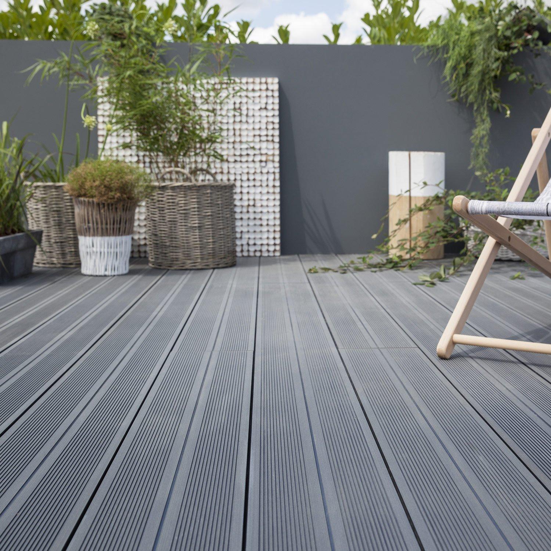 Terrasse bois posite gris leroy merlin Nos Conseils
