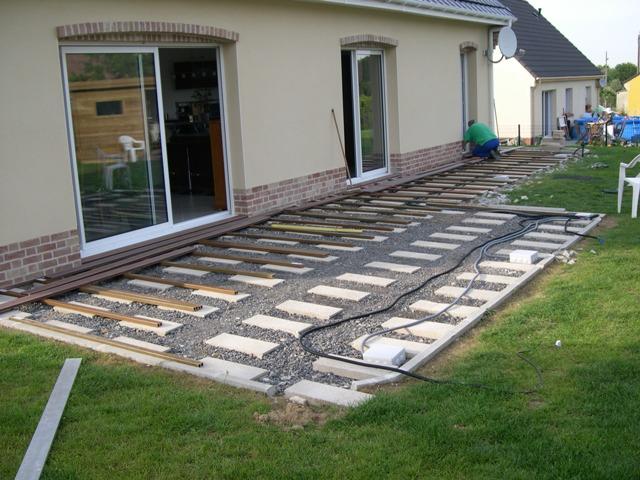 Faire poser une terrasse en bois posite veranda