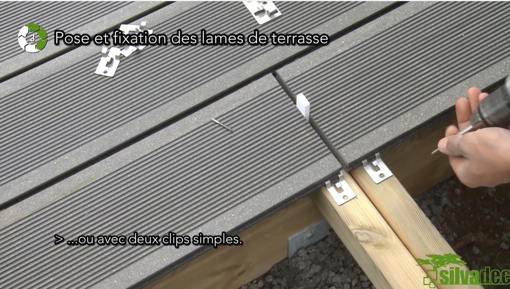 Lame De Terrasse posite Pas Cher 1 Clic 6 Tapes Votre