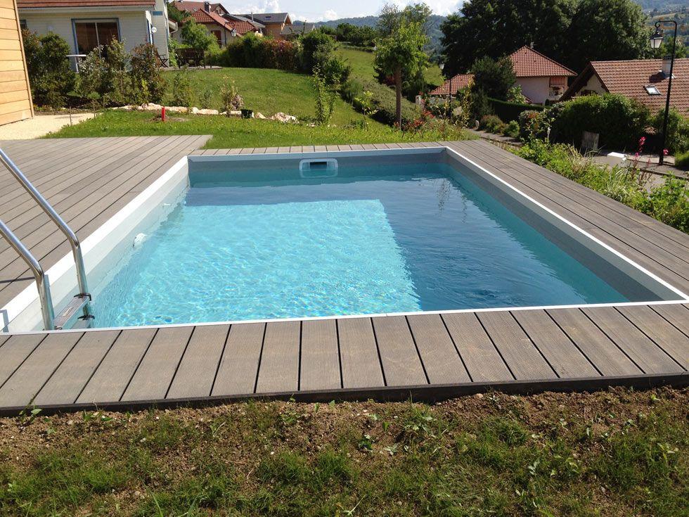 Abords de piscine en bois posite
